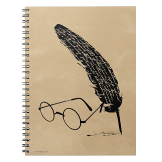 HARRY POTTER™ Glasses And Quill Notebooks
