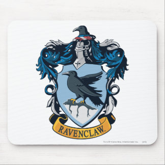 Harry Potter  | Gothic Ravenclaw Crest Mouse Pad