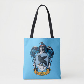 Harry Potter  | Gothic Ravenclaw Crest Tote Bag
