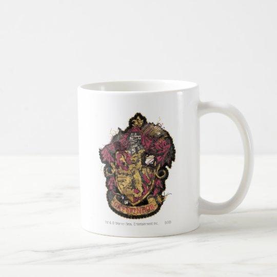Harry Potter | Gryffindor Crest - Destroyed Coffee Mug