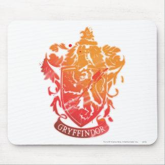 Harry Potter | Gryffindor Crest - Splattered Mouse Pad