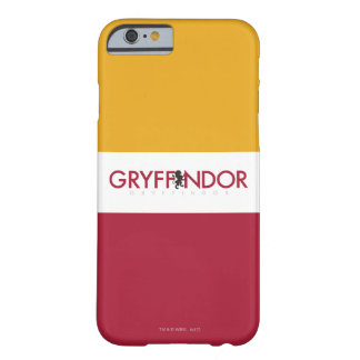Harry Potter | Gryffindor House Pride Crest Barely There iPhone 6 Case