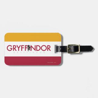 Harry Potter | Gryffindor House Pride Crest Luggage Tag