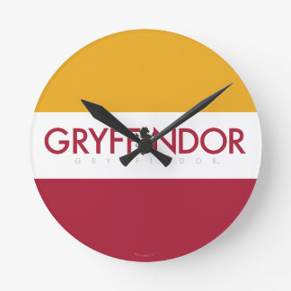 Harry Potter | Gryffindor House Pride Crest Round Clock