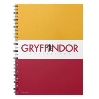 Harry Potter | Gryffindor House Pride Crest Spiral Notebook
