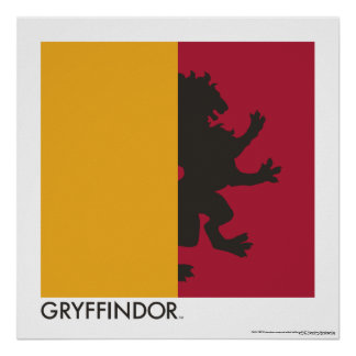 Harry Potter | Gryffindor House Pride Graphic Poster