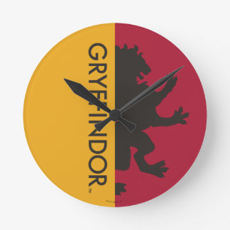 Harry Potter | Gryffindor House Pride Graphic Round Clock