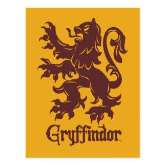 Harry Potter | Gryffindor Lion Graphic Postcard