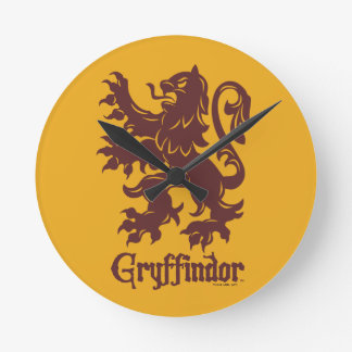 Harry Potter | Gryffindor Lion Graphic Wallclocks