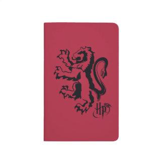 Harry Potter | Gryffindor Lion Icon Journal