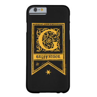 Harry Potter | Gryffindor Monogram Banner Barely There iPhone 6 Case