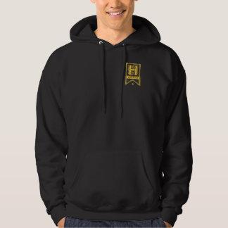 Harry Potter   Gryffindor Monogram Banner Hoodie