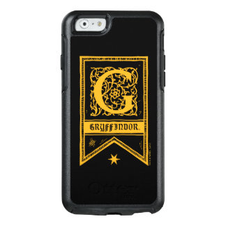 Harry Potter | Gryffindor Monogram Banner OtterBox iPhone 6/6s Case