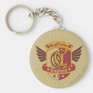 Harry Potter | Gryffindor QUIDDITCH� Captain Emble Key Ring