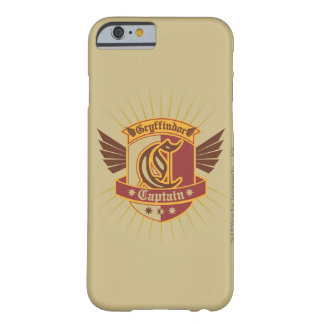Harry Potter | Gryffindor QUIDDITCH™  Captain Logo Barely There iPhone 6 Case