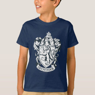 Harry Potter | Gryffindor Stencil Sketch T-Shirt