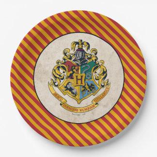 Harry Potter   Hogwarts Birthday Paper Plate