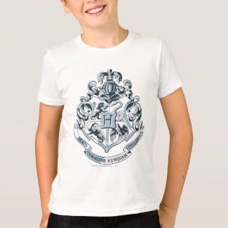 Harry Potter | Hogwarts Crest - Blue T-Shirt