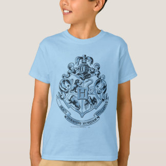 Harry Potter | Hogwarts Crest Blue T-Shirt