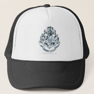 Harry Potter | Hogwarts Crest - Blue Trucker Hat