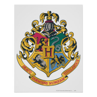 Harry Potter | Hogwarts Crest - Full Color Poster