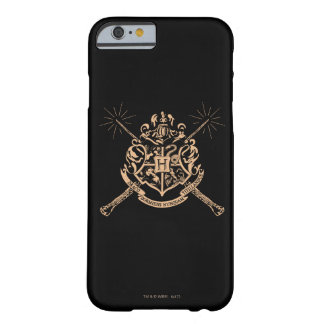 Harry Potter | Hogwarts Crossed Wands Crest Barely There iPhone 6 Case