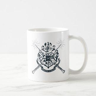 Harry Potter | Hogwarts Crossed Wands Crest Coffee Mug