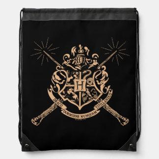 Harry Potter | Hogwarts Crossed Wands Crest Drawstring Bag