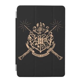 Harry Potter | Hogwarts Crossed Wands Crest iPad Mini Cover
