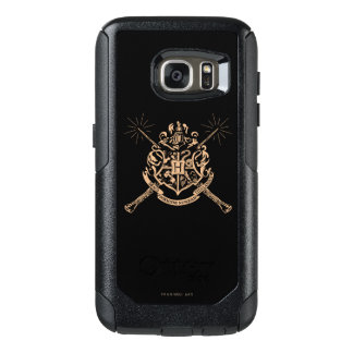 Harry Potter | Hogwarts Crossed Wands Crest OtterBox Samsung Galaxy S7 Case