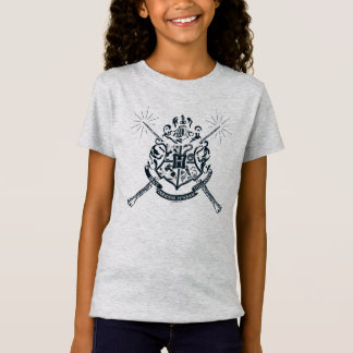 Harry Potter | Hogwarts Crossed Wands Crest T-Shirt