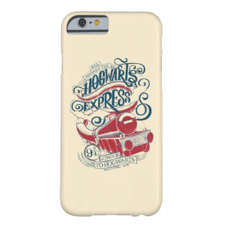 Harry Potter | Hogwarts Express Typography Barely There iPhone 6 Case