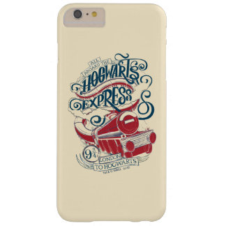 Harry Potter | Hogwarts Express Typography Barely There iPhone 6 Plus Case