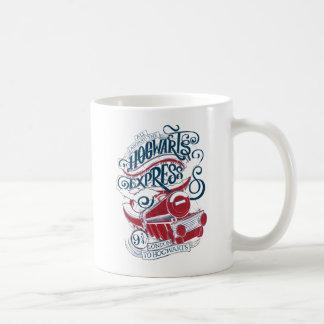 Harry Potter | Hogwarts Express Typography Coffee Mug