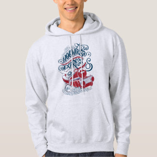 Harry Potter | Hogwarts Express Typography Hoodie