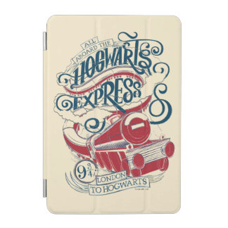 Harry Potter | Hogwarts Express Typography iPad Mini Cover