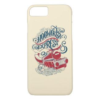 Harry Potter | Hogwarts Express Typography iPhone 8/7 Case