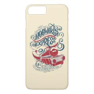 Harry Potter | Hogwarts Express Typography iPhone 8 Plus/7 Plus Case