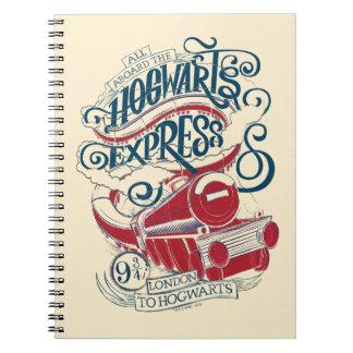 Harry Potter | Hogwarts Express Typography Notebooks