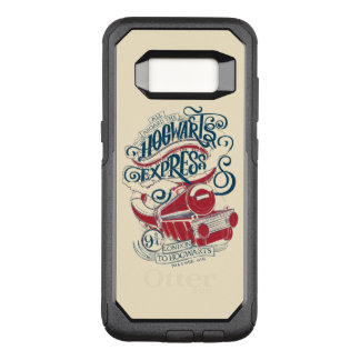 Harry Potter | Hogwarts Express Typography OtterBox Commuter Samsung Galaxy S8 Case