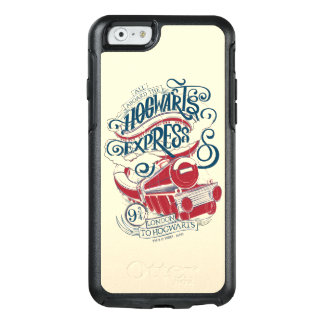 Harry Potter | Hogwarts Express Typography OtterBox iPhone 6/6s Case