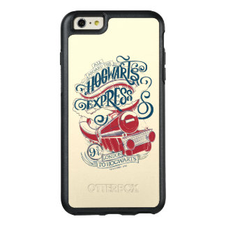 Harry Potter | Hogwarts Express Typography OtterBox iPhone 6/6s Plus Case