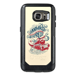 Harry Potter | Hogwarts Express Typography OtterBox Samsung Galaxy S7 Case