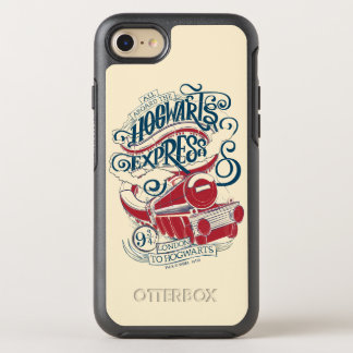 Harry Potter | Hogwarts Express Typography OtterBox Symmetry iPhone 8/7 Case