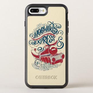 Harry Potter | Hogwarts Express Typography OtterBox Symmetry iPhone 8 Plus/7 Plus Case