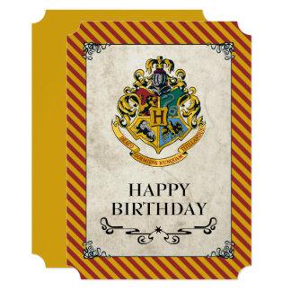 Harry Potter | Hogwarts Happy Birthday Card