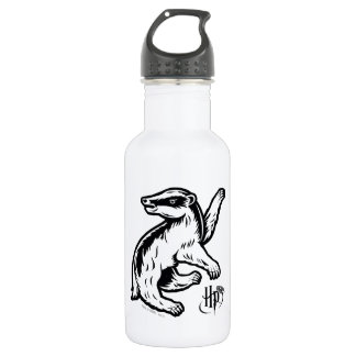 Harry Potter | Hufflepuff Badger Icon 532 Ml Water Bottle
