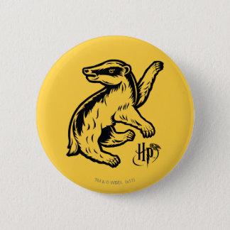 Harry Potter | Hufflepuff Badger Icon 6 Cm Round Badge
