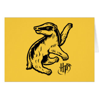 Harry Potter | Hufflepuff Badger Icon Card