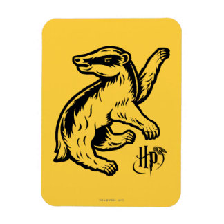 Harry Potter | Hufflepuff Badger Icon Magnet